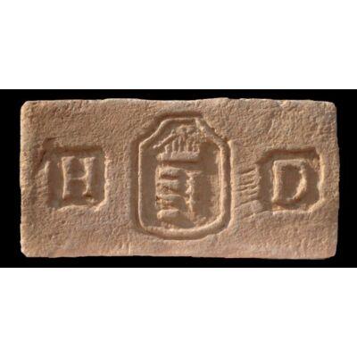 Pajzsos címer mintájú címeres tégla