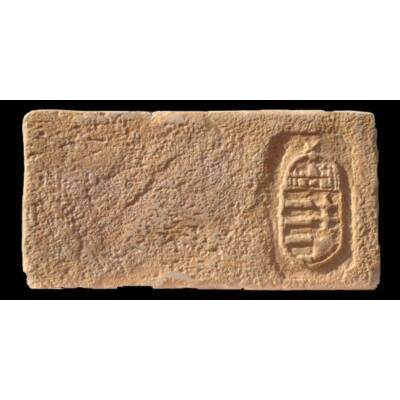 Szent Korona mintájú címeres tégla