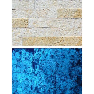 Santorini fénykő kék