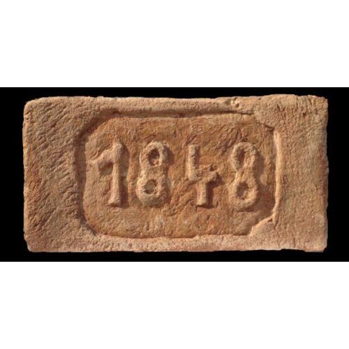 1848 mintájú címeres tégla