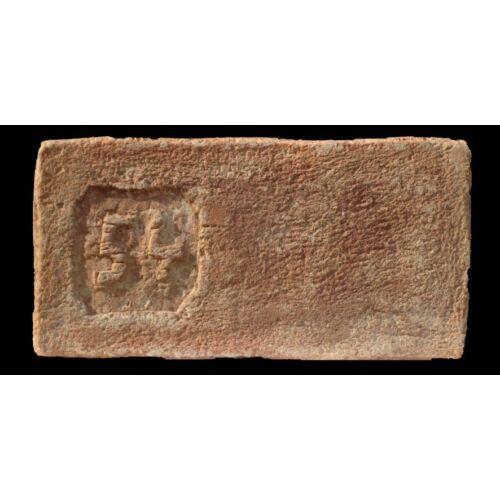 54 mintájú címeres tégla