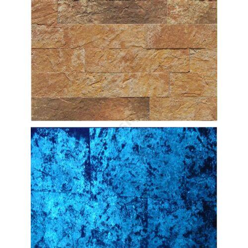 Korynthos fénykő kék