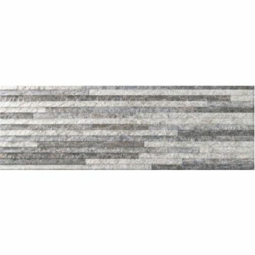 Boston Gris 19x57 cm csempe, falpanel