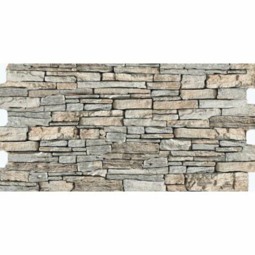 Kőmintás Truva Grey padlóburkolat, falburkolat 30x60 cm