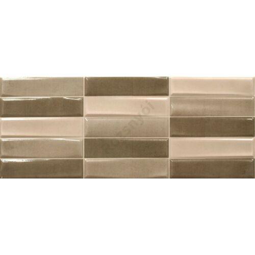 Cifre Madison Tesel Ivory Mix 20x50 cm csempe