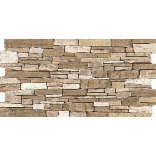 Kőmintás Truva Brown padlóburkolat, falburkolat 30x60 cm