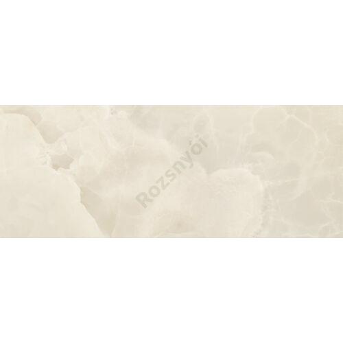 Onix-marfil 35x90 cm fényes porcelán csempe, falburkolat
